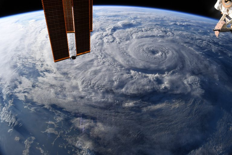 Hurricane Genevieve from the International Space Station