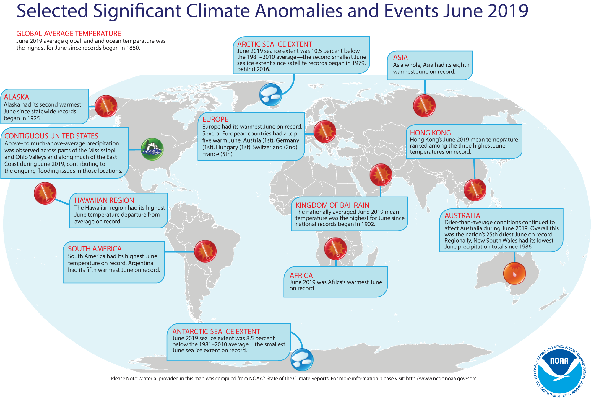 1d1d6a60 Global Climate Report - June 2019 | State of the Climate | National ...