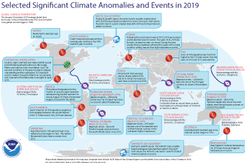 2019 Global Significant Weather and Climate Events