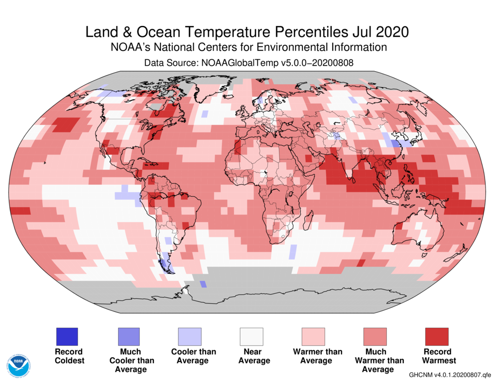 Will 2020 Be the Hottest Year on Record?