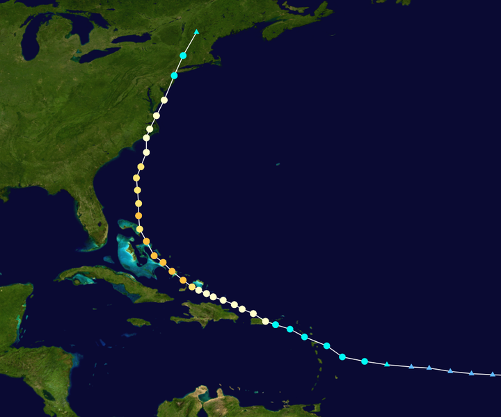 Tropical Cyclone Irene Tracking NOAA NCDC
